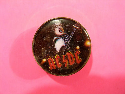 Ac/dc Vintage Cloisone Pin Button Badge Uk Import Not Shirt Patch Cd
