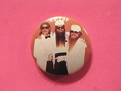 Zz Top Vintage Button Badge Pin Uk Import Not Patch Shirt Cd Lp Poster Group