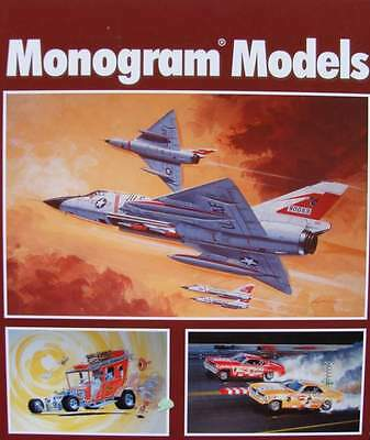 BOEK/LIVRE : MONOGRAM MODELS (price guide,auto,stock car,hot rod,revell,book)