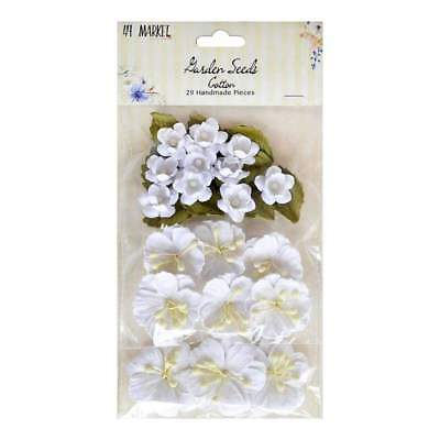 NEW 49 and Market Garden Seed Flowers - Cotton