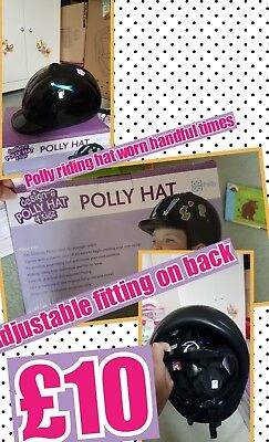 polly riding hat 4 kids (52cm to 55cm)