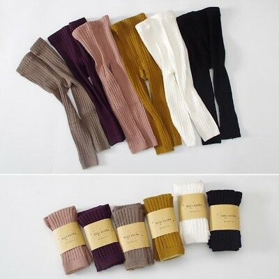 Baby Toddler Kids Boys Girls Cotton Warm Pantyhose Socks Stockings Tights 0-6Y