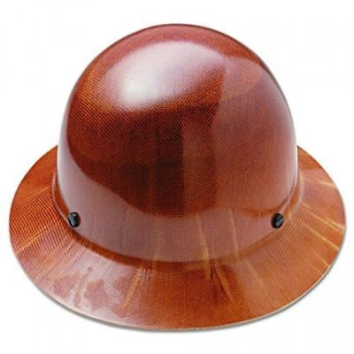 MSA 475407 Natural Tan Skullgard Hard Hat with FasTrac Suspension *BRAND NEW*