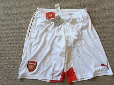Arsenal Football Shorts Size L 2015/16 Puma NEW