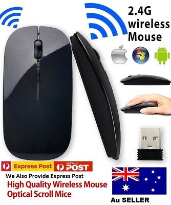Wireless Mouse 2.4GHz  Mini Optical Sensor Mouse for All Laptop PC Black sell
