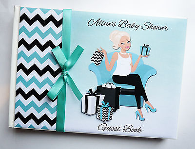 Mum To Be (Mom To Be) Boy Girl Baby Shower Guest Book - Any Design