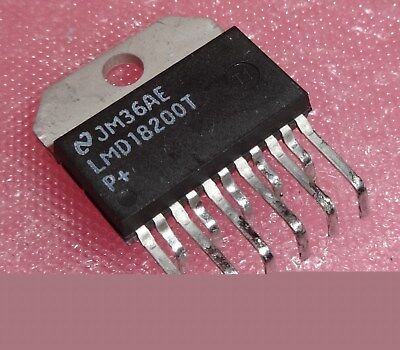 LMD18200T 3A, 55V H-Bridge Stepper Motor Controller