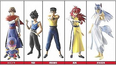 BANDAI Yu Yu Hakusho Styling Gekitou Dark Tournament 5 SET Yusuke Urameshi