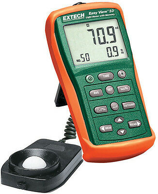 Extech EA33 LIGHT METER WITH MEMORY EASYVIEW