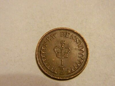 1974 Great Britain 1/2 Penny --- Lot #3742