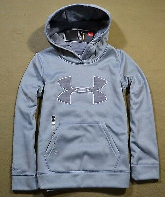 Nwt Girls Youth Under Armour Storm Gray Pullover Hoodie Jacket Coat Sz Yxs-Xl
