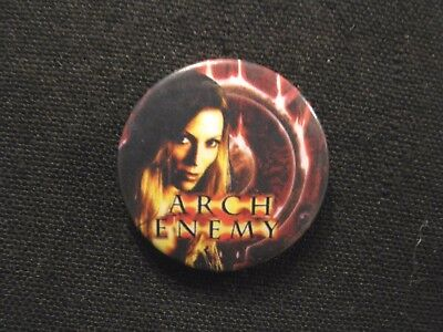 "Arch Enemy New 1"" Badge Pin Button Uk Made Not Patch Shirt Lp Cd Poster Metal"