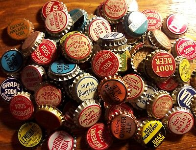 85 GENERIC soda bottle caps unused cork