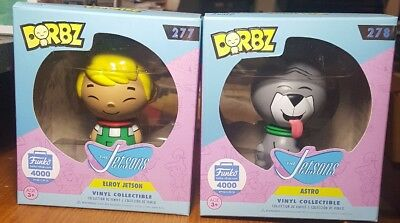 NEW DORBZ The Jetsons Elroy Jetson 277 & Astro Dog 278 Funko Collectible Figure
