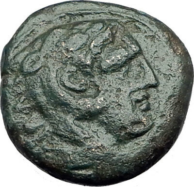 ALEXANDER III the Great 325BC Macedonia Ancient Greek Coin HERCULES CLUB i64954