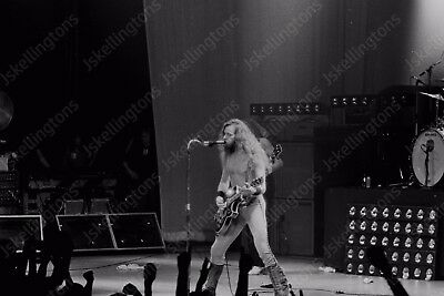 TED NUGENT live concert 1980s vintage 35mm photo Negative  Af17