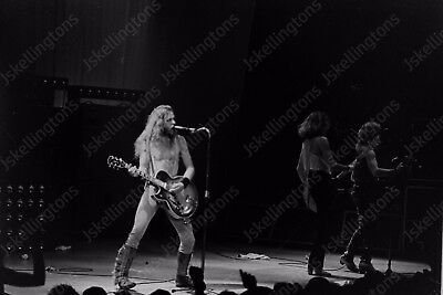 TED NUGENT live concert 1980s vintage 35mm photo Negative  Ak15