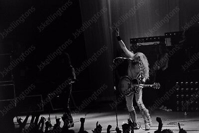 TED NUGENT live concert 1980s vintage 35mm photo Negative  Af2