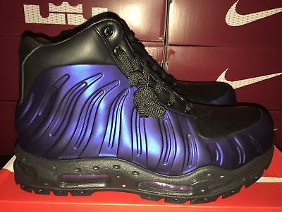 innovative design 1fe66 ffbbe ... reduced mens nike air max foamdome boots black purp foamposite 843749  500 dcced e0d5e