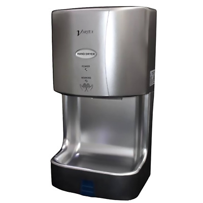 Jetoz630S Silver Mini Hand Dryer With Filter & Water Tray