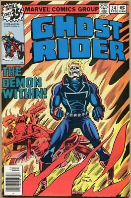 Ghost Rider (Vol. 1) #34 - FN