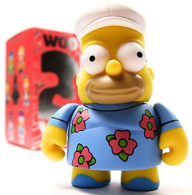 "Kidrobot THE SIMPSONS 25TH ANNIVERSARY SERIES - FAT HOMER 3"" Vinyl Figure"