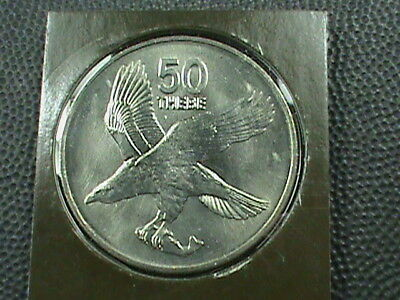 BOTSWANA    50  Thebe    1984    BRILLIANT  UNCIRCULATED   ,   MINT  SET