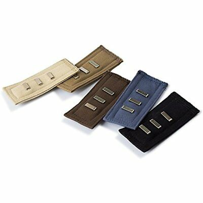 5-pack Hooks Waist Extenders, Adjustable Cotton Fit For Fabric Pants, Khakis, 5