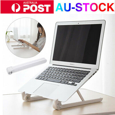 "Portable Aluminium Laptop Stand Adjustable Tablet Holder For 11-15.6"" PC Macbook"