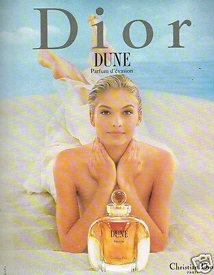 Publicité advertising 1997 Parfum  Dune par Christian Dior