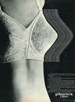 PUBLICITE SOUTIEN GORGE PLAYTEX 1969 LINGERIE Advertising - EUR 3 e1d9612e1e9