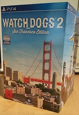 Watch Dogs 2 San Francisco Collectors Edition | PS4 Playstation 4 NEU OVP NEW