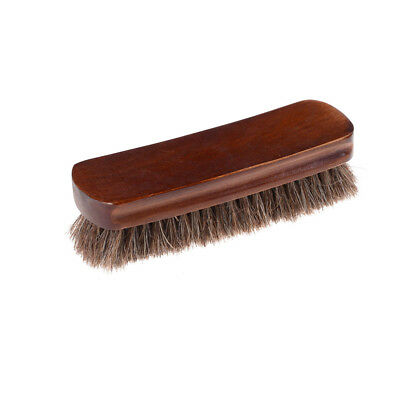 """High Quality""""Horsehair Polish Brush For Leathers Shoe Bags Buffing and Polishing"""