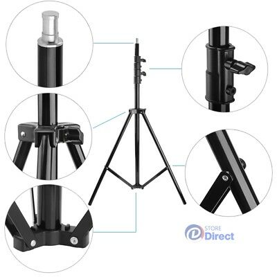 Foldable alloy Heavy Duty Light Flash Tripod Stand Photography Stand Support