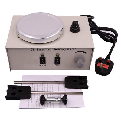 220V Laboratory Lab Magnetic Stirrer with Heating Plate Hotplate Mixer 1000ml