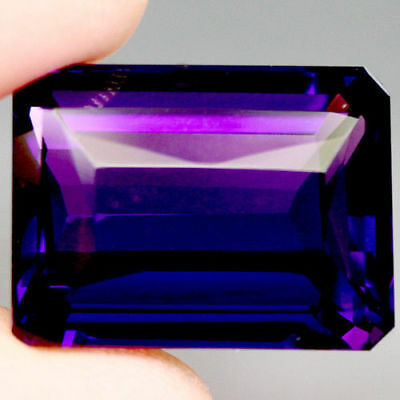 26.22 Ct Aaa! Purple Clr Change To Pink Amethyst Octagon