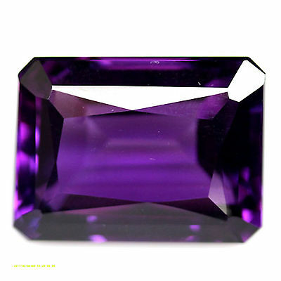 21.64 CT AAA! 15 X 20 mm. PURPLE CLR CHANGE TO PINK AMETHYST OCTAGON