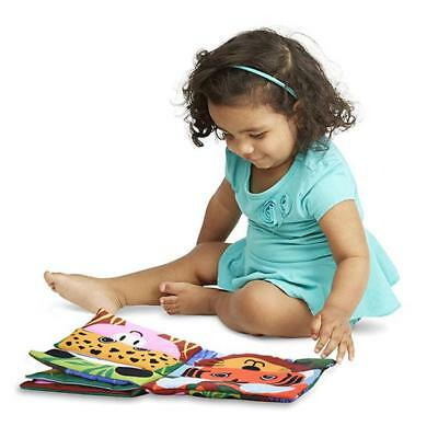 Soft Cloth Book Baby Toy Early Learning Education Animals Book Infant Toys - FI