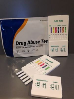 5 x 5 in 1 Multi Urine Drug Testing Panel MET / COC / THC / MDMA / AMP