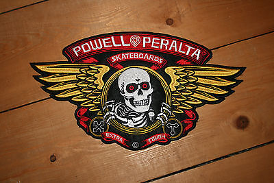 Powell Peralta Winged Ripper Patch / Aufnäher