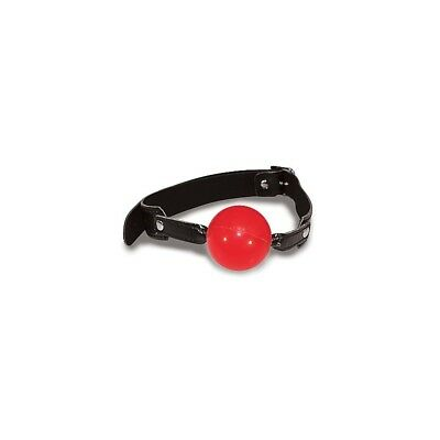 Solid Red Ball Gag sculacciatore paddle frusta master BDSM fetish sexy shop
