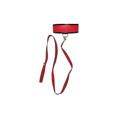 Red Leash & Collar sculacciatore paddle frusta master BDSM fetish sexy shop