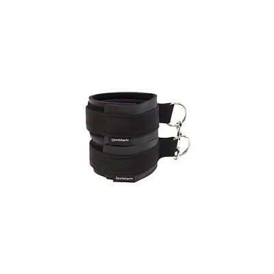 Sports Cuffs - Black sculacciatore paddle frusta master BDSM fetish sexy shop