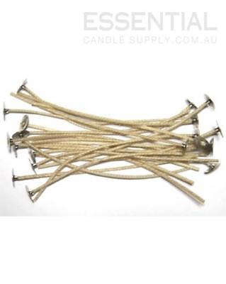 CDN 6 Candle Wick 15cm, with Tab/Sustainer (20 wicks)