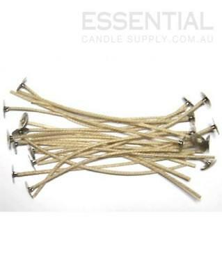 CDN 20 Candle Wick 15cm, with Tab/Sustainer (20 wicks)