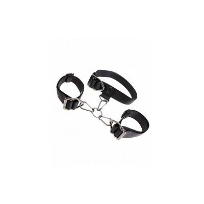 Command Cuff & Collar Set sculacciatore paddle frusta master BDSM fetish sexy sh