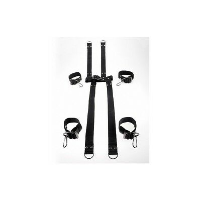 Command Hogtie & Collar Set sculacciatore paddle frusta master BDSM fetish sexy