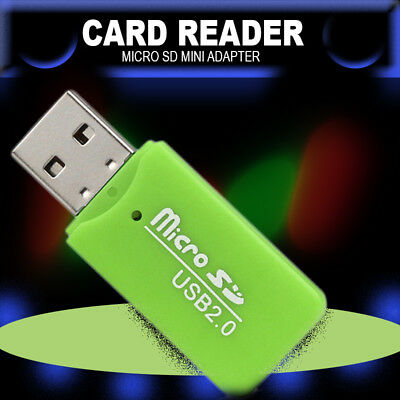 USB SD Memory Card Adapter Reader Writer New SD Mini 2.0 TF T Flash SDHC Laptop