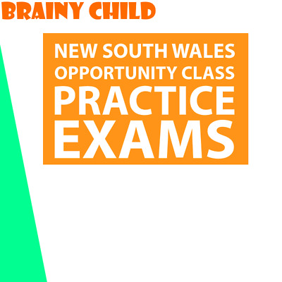 Brainy Child - Year 4 Opportunity Class (OC) Exam Practice Series