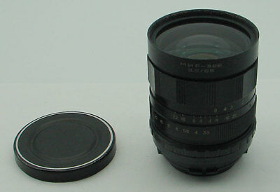Mir-38 3.5/65mm Arsenal lens for ARRI Red One Arriflex PL movie camera, EXC.